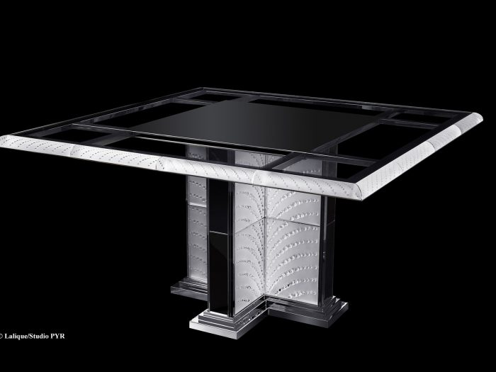 Table cristal